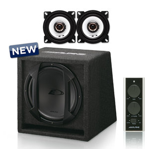 Alpine SWE-815 Audio upgrade set